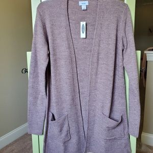 Old Navy long knit cardigan